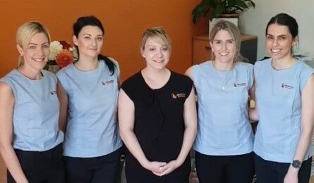 Our Friendly Administration Team - Connie, Claire, Jess, Amy & Katelyn
